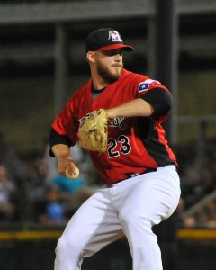 Fasola has 12 saves and a  0.74 WHIP in 24.1 innings. (Photo courtesy of Tracy Proffitt)