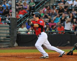 Tripp Martin doubled and smacked a 2-run HR (8) on Friday (Photo courtesy of Tracy Proffitt