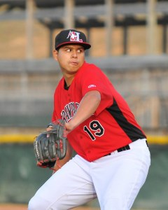 Ariel Jurado is 11-0 with a  2.21 ERA and 77 Ks in 81.1 innings (Photo courtesy of Tracy Proffitt)