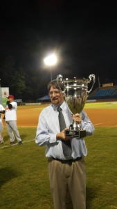 A pic with the SAL trophy (photo by Mark Parker)