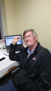 Ed Jenson has been the voice of the Greenville Drive since their inception in 2005 (photo by Mark Parker