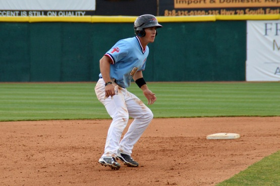 Dylan Moore at second