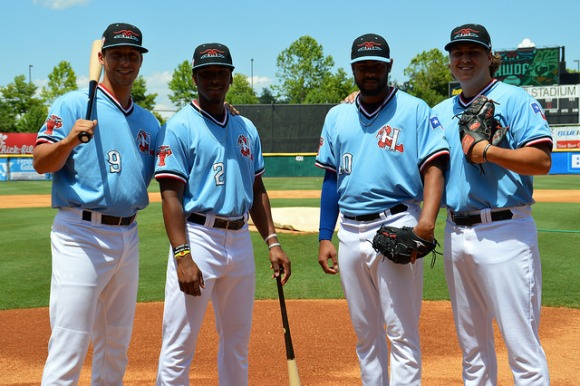 Crawdads SAL All-Stars