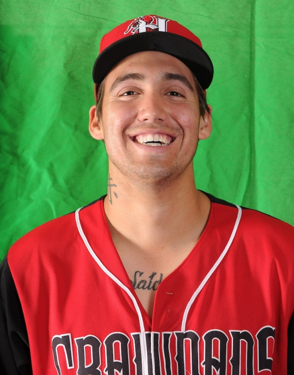 Hans Crouse #10 - Hickory Crawdads